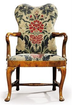 Queen Anne Walnut and Needlework ArmchairTop 25  best Queen anne chair ideas on Pinterest   Queen anne  . Antique Queen Anne Upholstered Chairs. Home Design Ideas