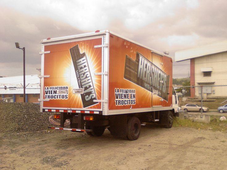 Rotulación completa para camión con impresión digital full color. . Panamá. Teléfono (507) 239-1205 Correo: