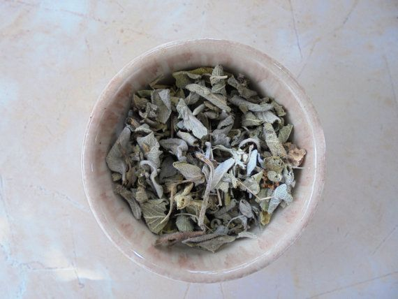 Clary Sage Greek  organic dried herb  17 oz  50 by MelirrousBees