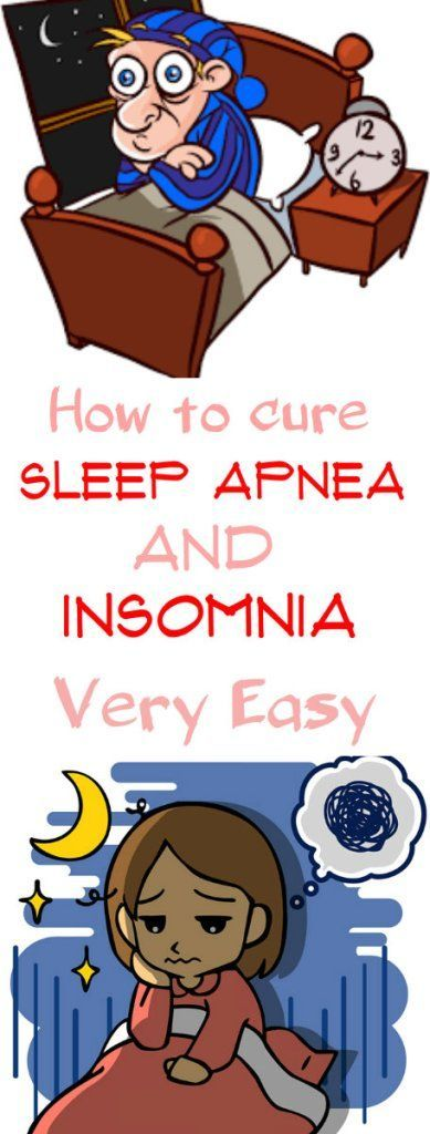 How to cure sleep apnea and insomnia very easy