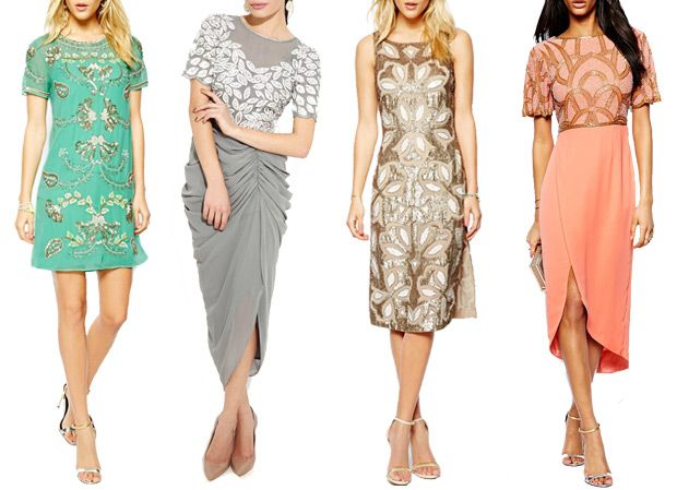 Incredible embellished glam wedding guest dresses for Summer 2014 | www.onefabday.com