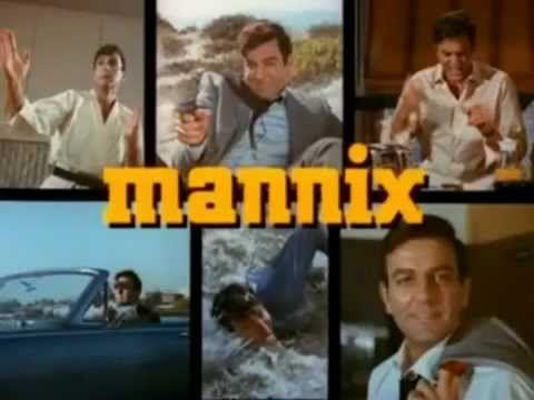 MANNIX TV Show at Blog