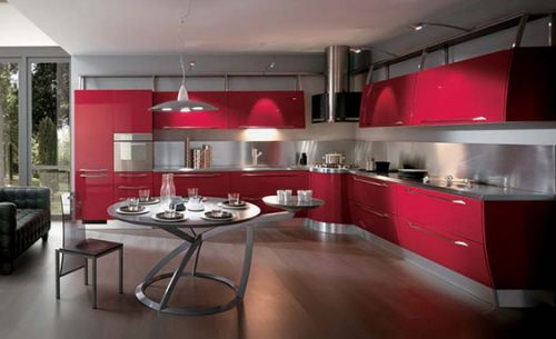 Vibrant Colors for the Kitchen on a Budget