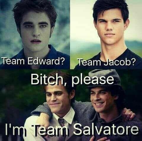 Team Salvatore all the way!