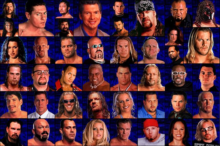 The full WWF SmackDown!: Just Bring It roster. #WWE #WWF # ... Trish Stratus And Jeff Hardy Fanfiction