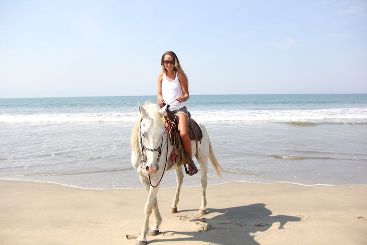 Horse Back riding in Nuevo Vallarta, Mexico! Can't wait to do this