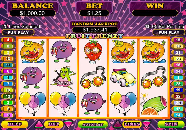 One of RTG's most popular slots of all time Fruit Frenzy