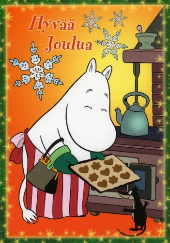 Merry Christmas from Moominmamma!