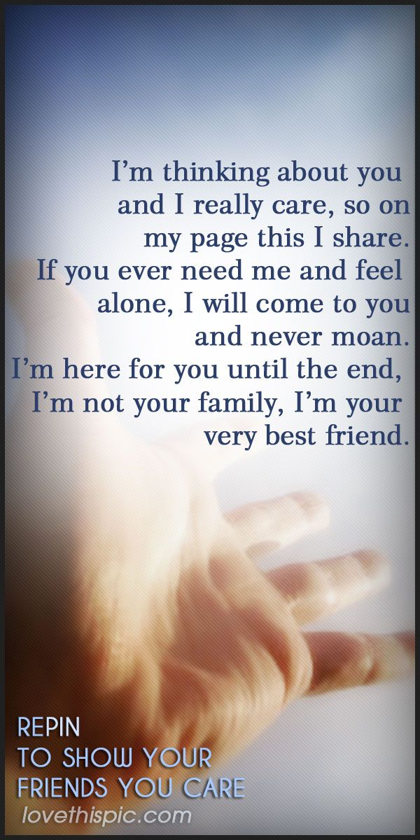 I care quotes friendship quote inspirational inspiration ...