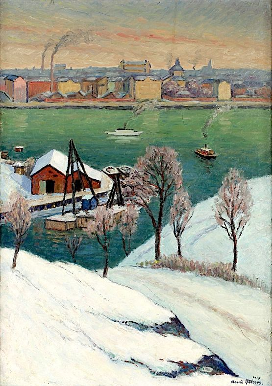 Arvid Nilsson - View from Stockholm