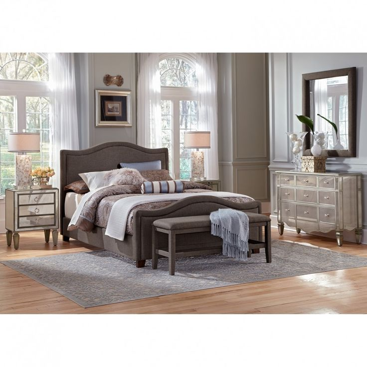 Bedroom, Excellent Mirrored Bedroom Furniture With Drawers As Storage And  White Teak Wood Panels With