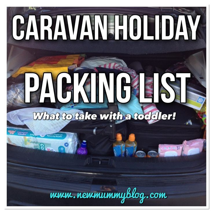 Static caravan holiday packing list... A tried and tested list of everything you need to take to a static caravan with a toddler!   |  New Mummy Blog - A pregnancy, parenting and lifestyle blog by an award nominated UK mummy blogger