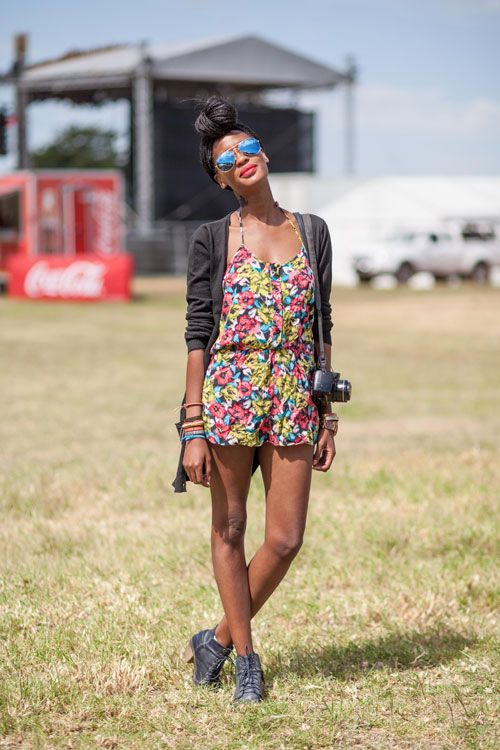 STREET STYLE AT ROCKING THE DAISIES