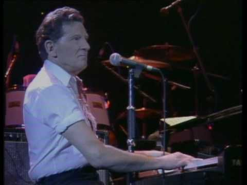Jerry Lee Lewis....Great Balls of Fire.  Soooo fun!  What energy he has.  :-)