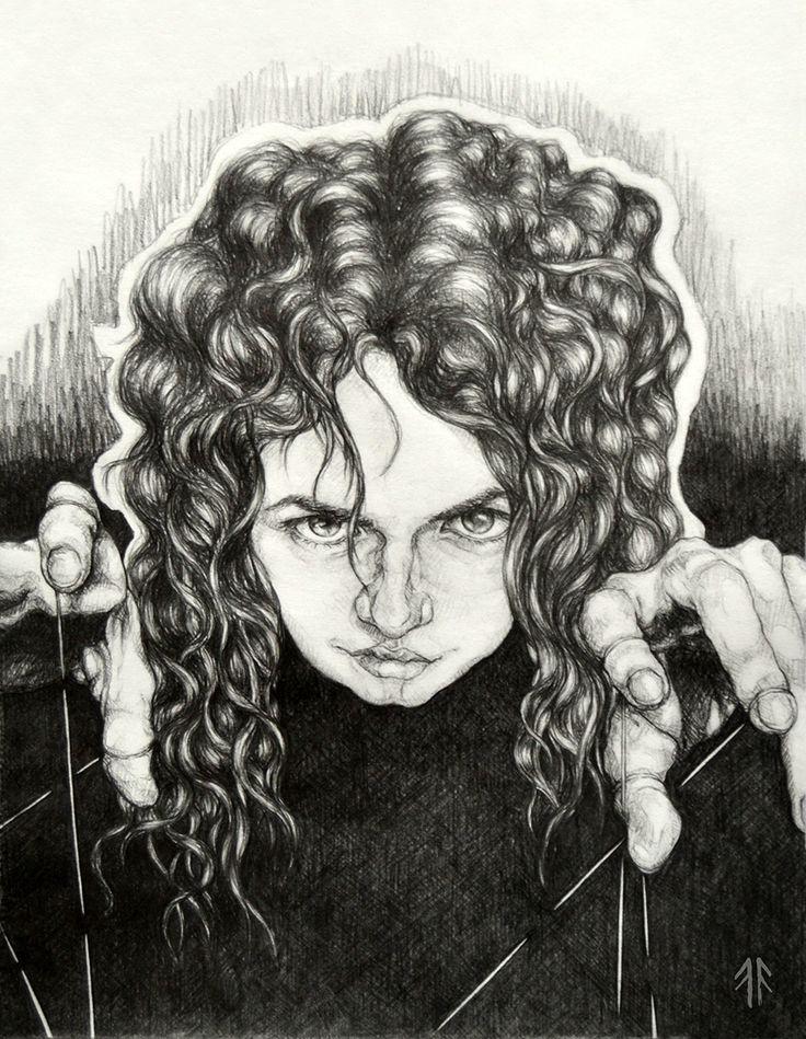 The Manipulator (by Fikus), Pencil Drawing