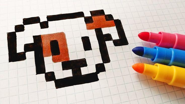 Handmade Pixel Art How To Draw A Kawaii Dog Pixelart