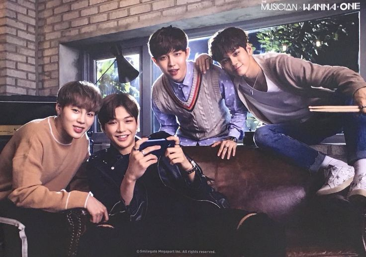Sungwoon, Daniel, Jaehwan, and Ong for Musician