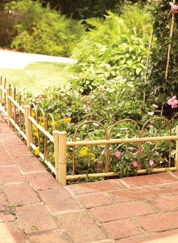 Landscaping Borders Menards : Garden projects ideas small gardens building materials fencing