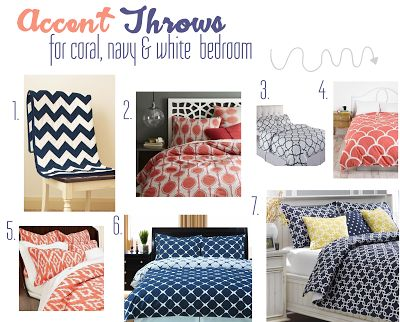 1000 images about navy grey and coral bedroom on 16495 | 84259790ac2c4d6c5dc27bd5d179cdd9