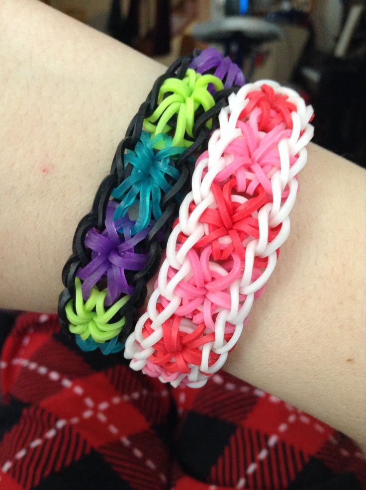 1000 Images About Rubberband Bracelets On Pinterest