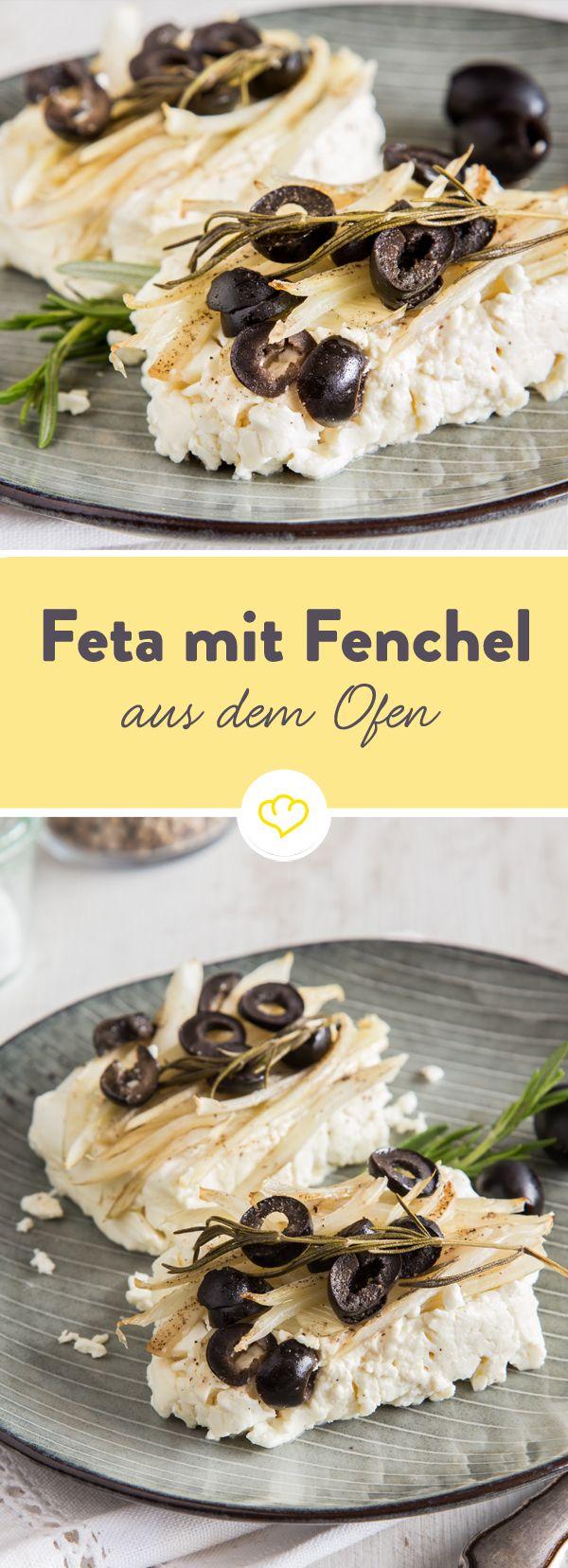 Ruckzuck wandern Feta, Fenchel, Oliven und Kräuter in die Alufolie und wenig später hast du ein leckeres low carb Abendessen auf dem Tisch.