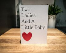 New Baby Card | Lesbian Moms | LGBT
