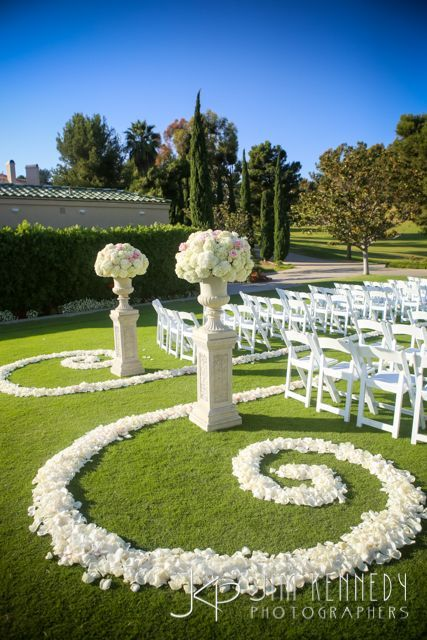 Best 25 wedding ceremony decorations ideas on pinterest wedding country club dcor for weddings outdoor wedding aisle junglespirit Images