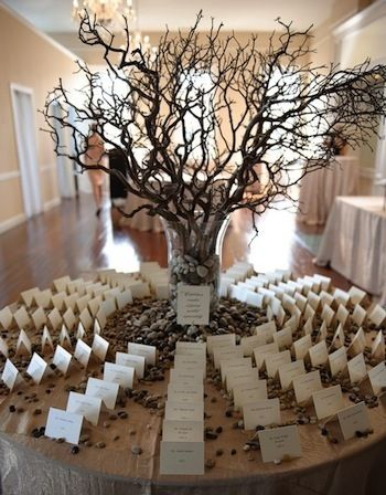 Gorgeous seating card table! | SocialTables.com | Event Planning Software