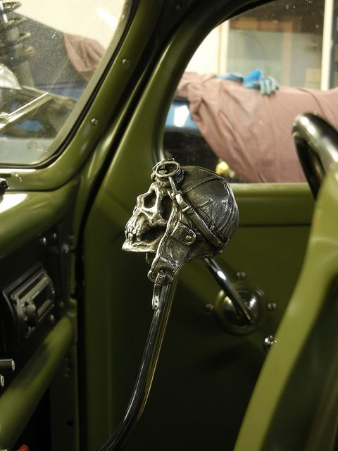 Hot Rod skull shifter * by SoulRider.222, via Flickr