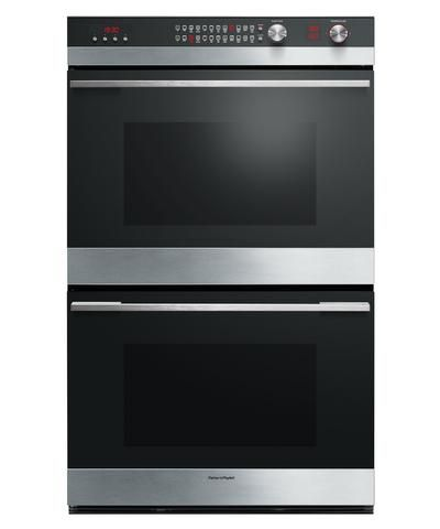 OB76DDEPX3 - 76cm 11 Function Double Pyrolytic Built-in Oven - 80888
