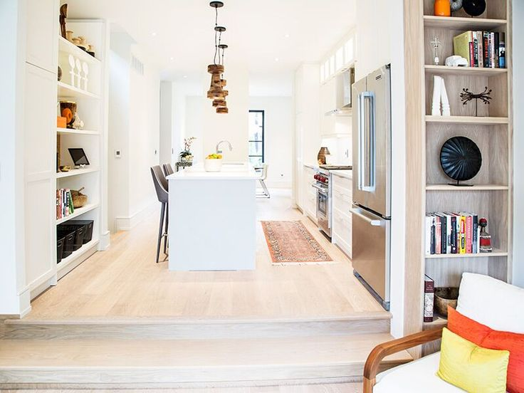 This home makes my heart beat faster. So lovingly designed!  I spy currency and the Tutsi bangle on display in the built-in shelving