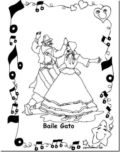 Basile Gato 2 1 1 Lore Dibujos Danza Folklorica Y Argentina
