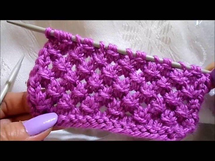 şiş örnek,knit pattern