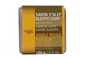 Mydło Aleppo z Czerwoną Glinką 100g