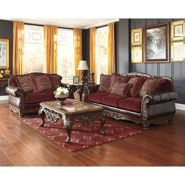 With The Plush Rolled Arms And Beautifully Ornate Accent Wood Trim Along With