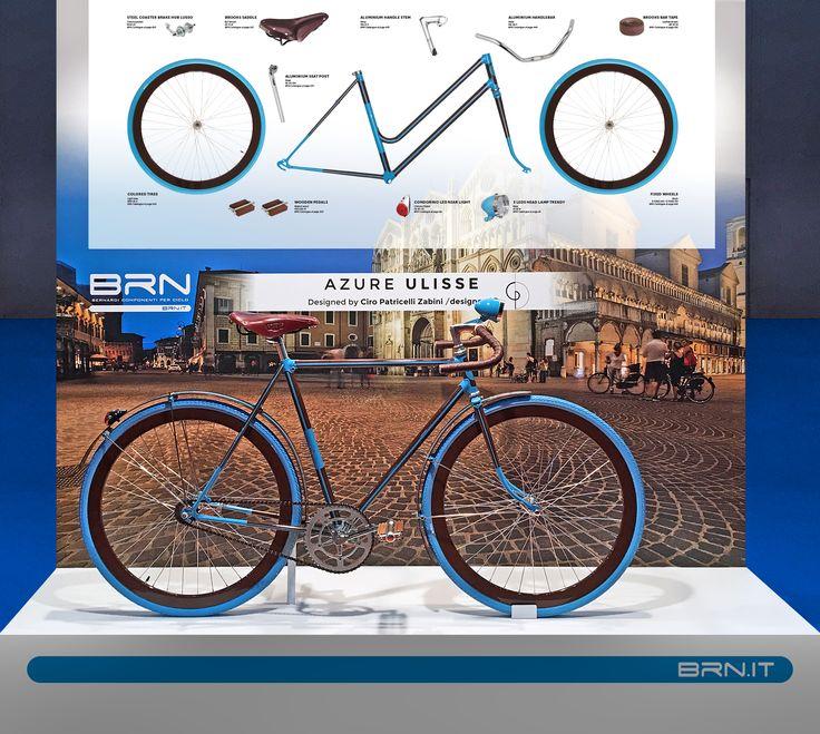 Ecco alcune delle #novità #2017 #BRN presentate in occasione della fiera della #Bicicletta di #Madrid! Questo modello realizzato da CP Design di #Ferrara si chiama #Ulisse. Vi piace? #custombike #bikeparts #bicycleparts #fixedgear #frame #bowframe #baaw #bicyclelifestyle #bicyclelove