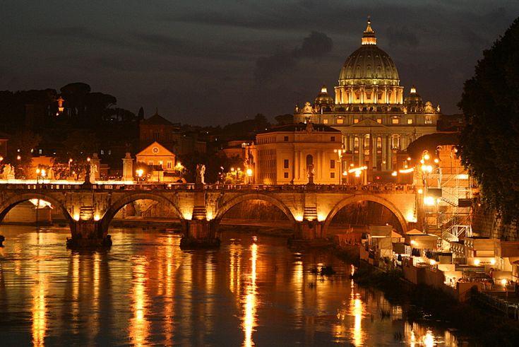 Rome at night!