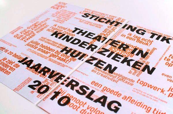Contoh Desain Gambar Buku Laporan Tahunan - Stichting TIK oleh Sven Zijderveld