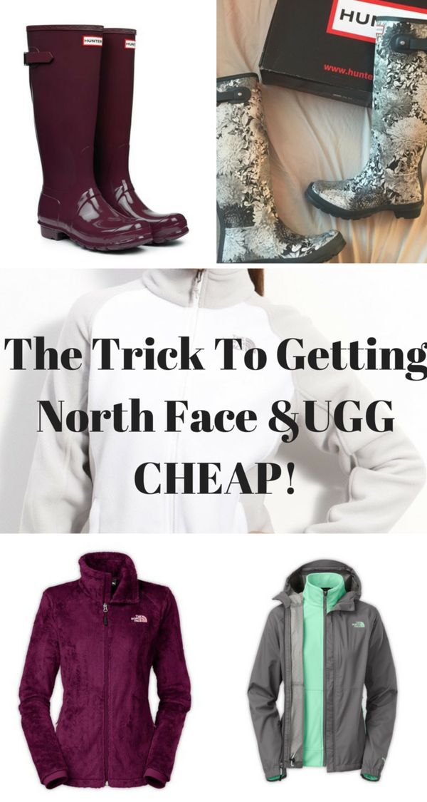 UGG, North Face and Hunter sale happening now! Buy all items at up to 70% off retail prices. Click image to install the FREE Poshmark app.