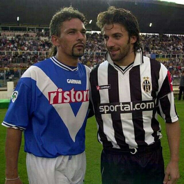 #RobertoBaggio #AlexandroDelpiero #90football.ir