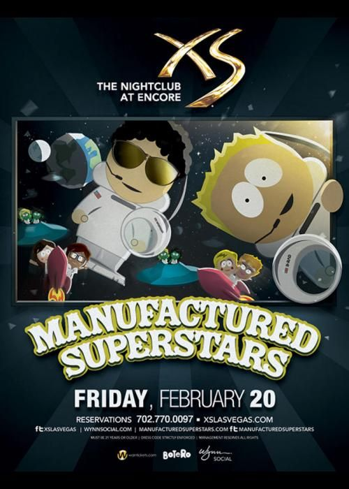 Manufactured Superstars at XS Nightclub