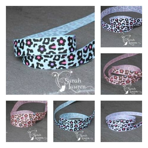 Animal Print Ribbon is available to buy HERE! * Ribbons Australia * Craft Ribbons * Cheap Ribbons * Ribbon online * Stripe Ribbon * Nautical Ribbon