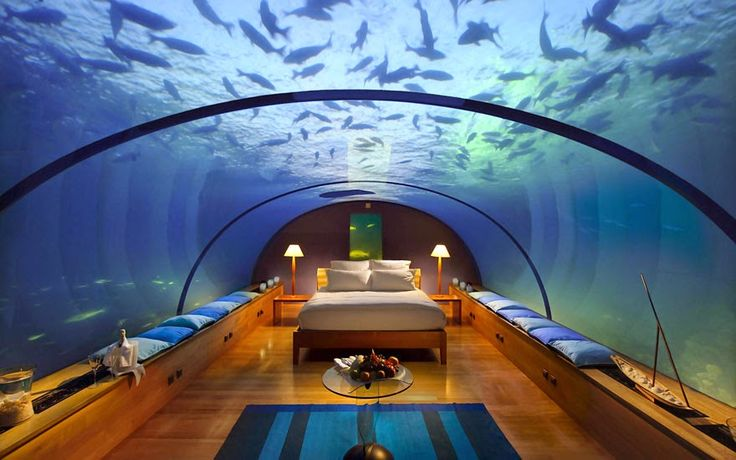 As long as you're traveling to some beautiful or exotic location, you might as well consider making your hotel a travel-worthy destination as well. Each of these unusual hotels around the world does its best to provide guests with, in one way or another, a unique and unforgettable experience...
