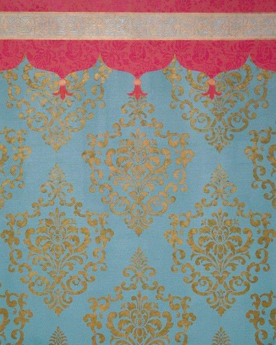 50 Best Damask Images On Pinterest Stencil Damask Wall