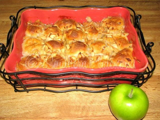 Canned biscuits or even crescent rolls can be used to make apple dumplings saving the time of making the dumpling pastry component of this tasty dessert. This .