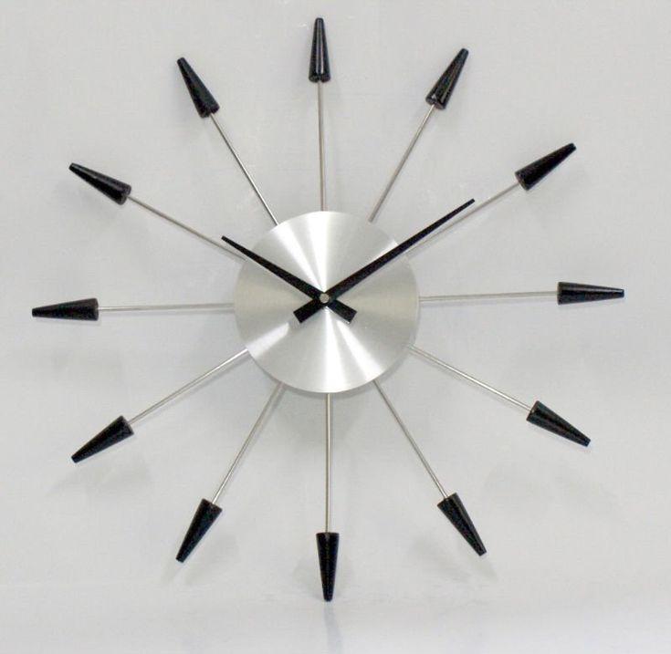 M s de 1000 ideas sobre reloj moderno en pinterest - Reloj de pared moderno ...