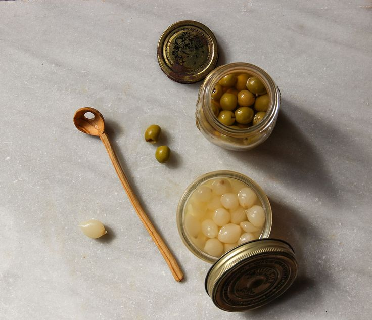 Lovely lovely lovely lovely pickled things! And the perfect wooden spoon to fish for them.
