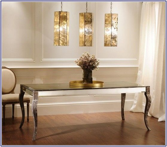 Shining Antique Mirror Table