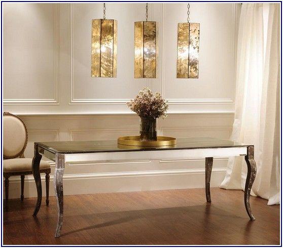 Shining Antique Mirror Table