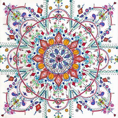 Whimsy Mandala